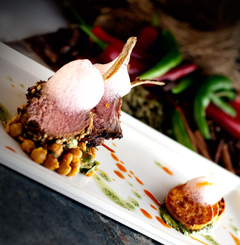 MBG Sunil Ghai - Rack of lamb